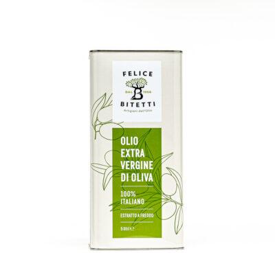 Olio extravergine di oliva, Lattina da 5 litri